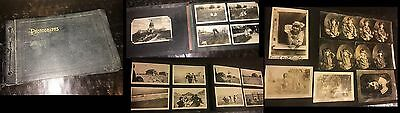 Great Vintage Snapshot Album with 250 Photos - Oklahoma & Oregon