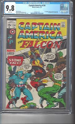 Captain America #134 CGC 9.8 White Pages Highest Graded Copy