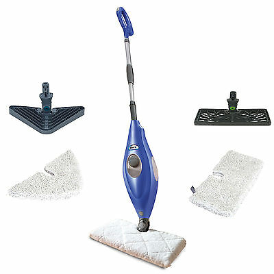 Shark Deluxe Steam Pocket Mop and Multi Surface Floor Cleaner, Blue | S3501
