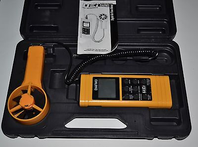UEI DAFM3 Digital Test Unit Airflow/Humidity Handheld W/Case Fast Free Ship