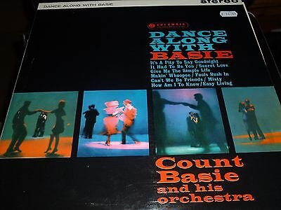 COUNT BASIE Dance along with Basie Vinyl LP Columbia SCX3333 Stereo 3/3