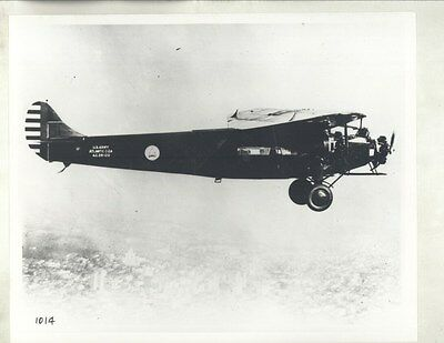 1929 Atlantic C2A US Army Airplane Factory Photograph ww8459