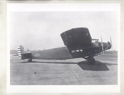 1928 Fokker C7A Army Airplane Prototype Factory Photograph ww8462