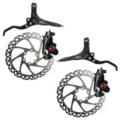 BRAKES Clarks M2 Hydraulic Disc Set Front & Rear 160mm Mineral Oil Bike Cycle