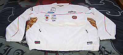 Jim Beam Racing DJR Ford Mens Warm V8 Supercar 2-In-1 Jacket Size XXL New