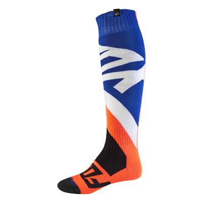Fox 2017 Herren Motocross / MTB Socken - CREO COOLMAX THICK - orange Motocross E