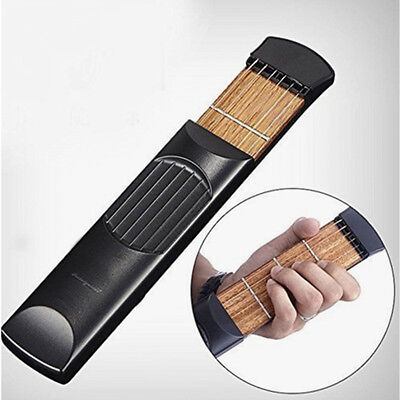 Portable Guitar Practice Training Tool Gadget Guitar Chord Trainer 4 Fret