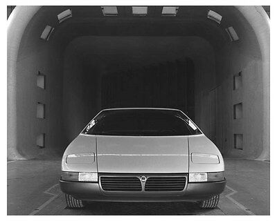 1980 Lancia Medusa Ital Design Concept ORIGINAL Factory Photo och6836