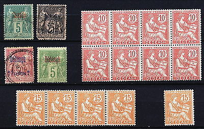 France Dedeagh Occupation In The Levant M / Mnh / Used Lot.   A20