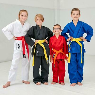 Blitz Kids 7oz Student Karate Suit Gi Uniform - Different colours