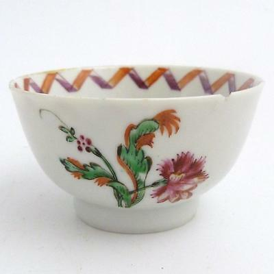 Chinese Famille Rose Porcelain Tea Bowl, 18Th Century