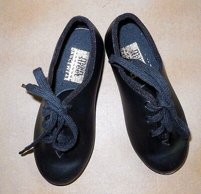 New without box  Main Street  Toddler Boys Black Tap Shoes Lace Up Dance