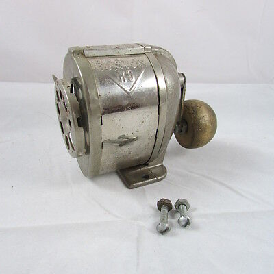 Vintage Boston KS Pencil Sharpener Table Top Wall Mount Mid Century