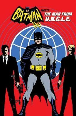 Batman 66 Meets the Man from Uncle by Jeff Parker 9781401268640