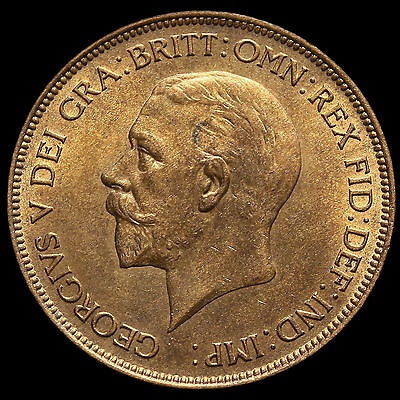 1930 George V Penny, UNC