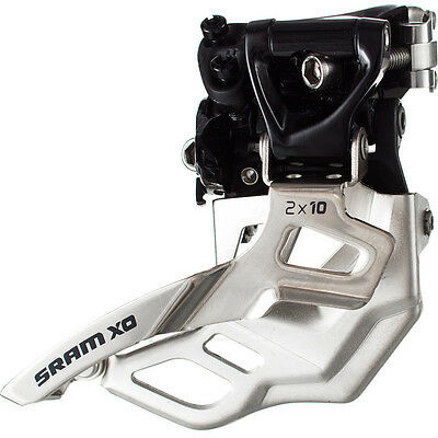 SRAM X0 Front Derailleur 31.8mm Top Pull High Clamp 2x10 speed New