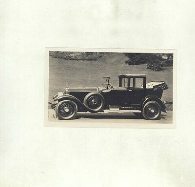 1923 ? Rolls Royce Silver Ghost Cabriolet Factory Photograph ww8570