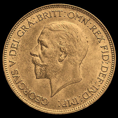1929 George V Penny, UNC