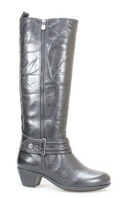 """Nurture NEW Black Shoes Size 6M """"Brooks"""" Knee-High Leather Boots $160- #185 DEAL"""