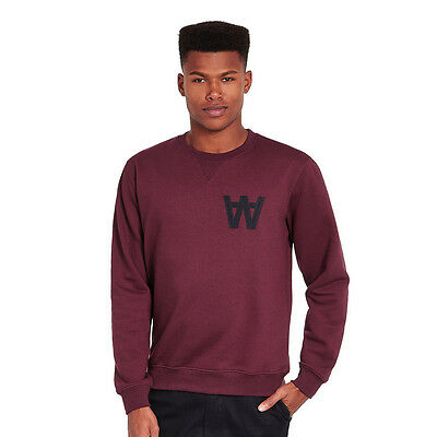 Wood Wood - Houston Sweatshirt Port Royale Pullover Rundhals