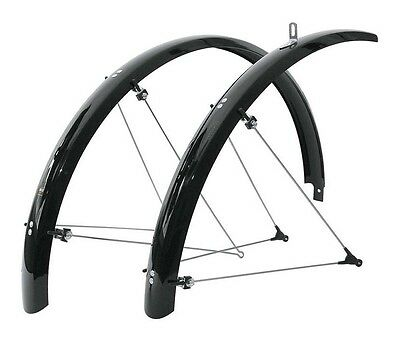 Sks Mudguard Kit Bluemels 28inches 35mm 28Inches 35mm Black Guardabarros