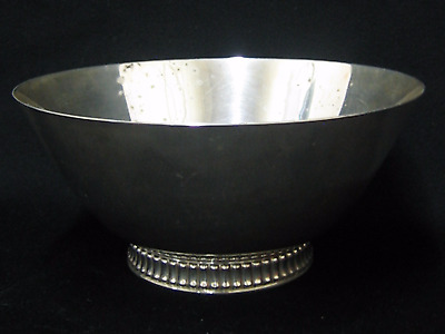 Vintage Reed & Barton Silverplate Revere Bowl (111)
