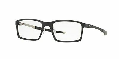 New Men Oakley Eyeglasses OX8097 STEEL LINE S 809701