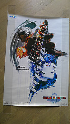 SNK Neo Geo original arcade game THE KING OF FIGHTERS 2000 promo large POSTER