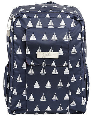 Ju Ju Be Coastal MiniBe Backpack Baby Diaper Bag Annapolis NEW
