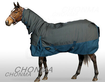 CHONMA   1680D 250G Fill Winter Waterproof BreathableTurnout Horse Rug Combo-A37