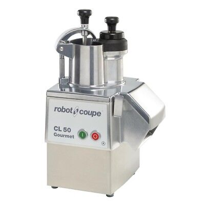 Commercial Robot Coupe Vegetable Cutter Food Processor Machine Cl50 Gourmet