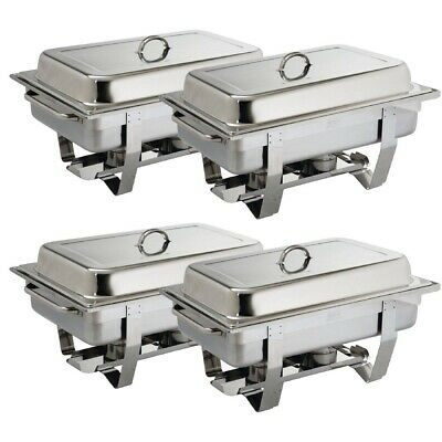 Olympia (Pack of 4) Milan Chafing Dish Special Offer BARGAIN