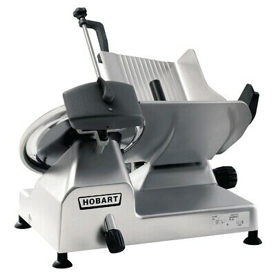 Commercial Hobart Edge Gravity Fed Meat Slicer Cutter Butchery Butcher Edge