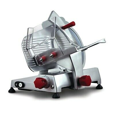 Commercial Noaw Manual Gravity Feed Meat Slicer Cutter Butchery Deli Ns220