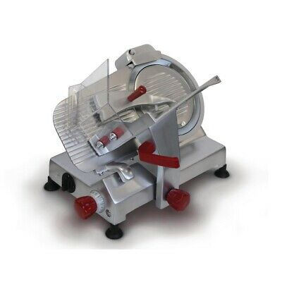Commercial Noaw Manual Gravity Feed Meat Slicer Cutter Deli Butcher Ns250Hd