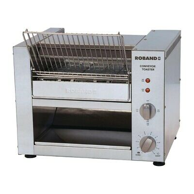 Commercial Roband Conveyor Belt Toaster Toast Hotel Resort Buffet Tcr15