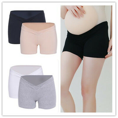 Solid Maternity Panties Knickers Womens Modal Pregnancy Underwear Pants 4x L