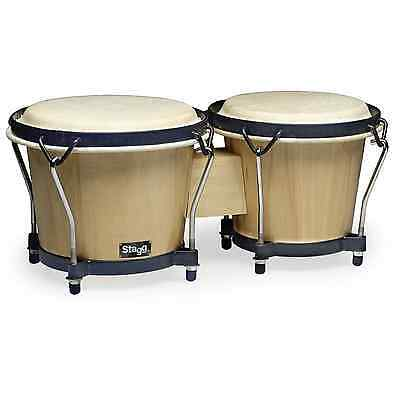 """Stagg Wooden Bongos, 6"""" and 7"""""""