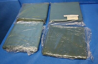 """Surgical Drape Sheets 4 each 34"""" x 66"""" Fenestrated 11"""" x 2"""" 100% Cotton"""