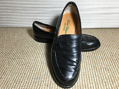 Robert Clergerie Black leather loafers women's Size 8