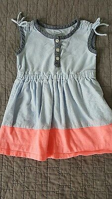 Old Navy baby/toddler girl dress striped tank summer size 12-18 months