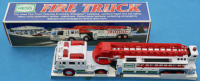 "Hess Fire Truck Ladder Truck Toy ""New In Box""  2000"