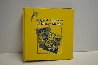 Magical Kingdom of DISNEY STAMPS Binder & Stamps Fantasia MICKEY Lion King +++