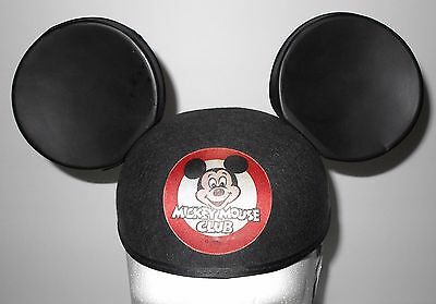 Vintage Disney Mickey Mouse Club Mouseketeers Hat Ears
