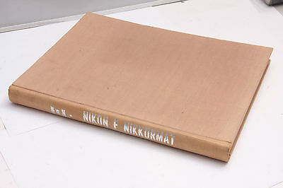 Nikon F Nikkormat Cooper Abbott 1968 Guide Photography Book English - USED F31