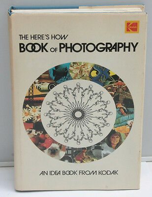 Kodak Here's How 1973 AE-100 Guide Photography Book English - USED F31