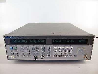 HP / Agilent 83752A Synthesized Sweeper 10MHz - 20GHz