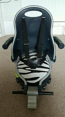 Buggypod perle Zebra Print & Adaptor For Bugaboo Buggy Board With Box & Receipt