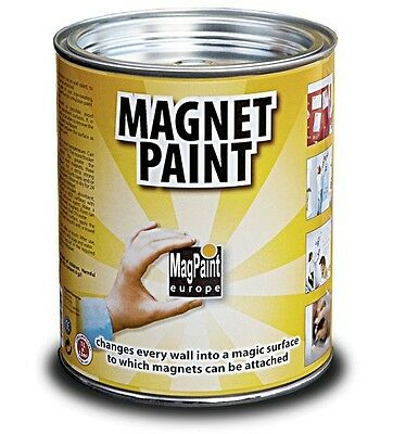 Magnetic paint MagPaint Wall colors for home,Workplace,School, 1 Liter Can