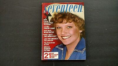 Vintage magazine SEVENTEEN July 1976 Jane Cullen cover Special Summer Issue